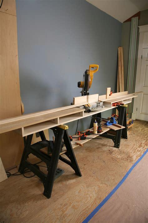 diy miter saw bench pdf plans compound miter saw stand diy download diy coat