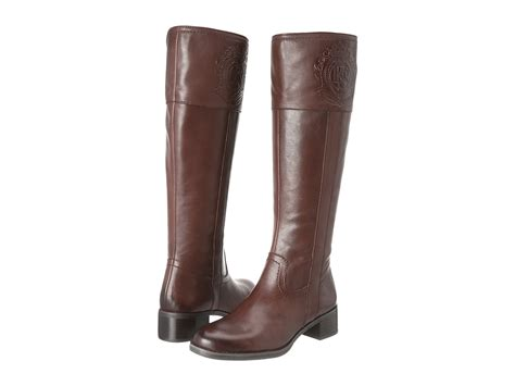 franco sarto s christie boot ox brown leather