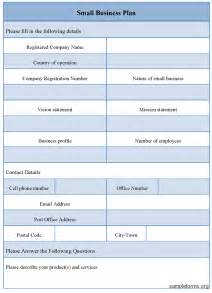 buisiness plan template small business plan template pdf