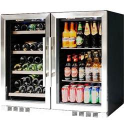 Glass Door Compact Refrigerator Compact Glass Door Combo Beverage Refrigerator Cooler Front Venting Fridge Ebay