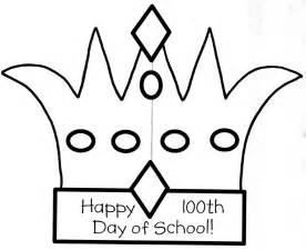 100th Day Crown Template by 75 Clever Ideas For 100 Days Of School Tip Junkie