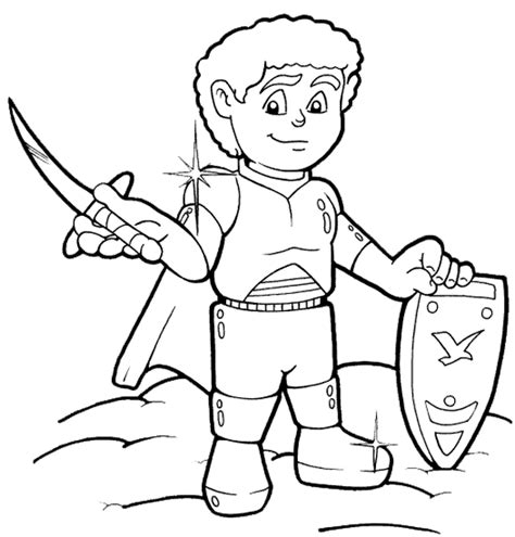 Armor Of God Coloring Page God Is Coloring Pages