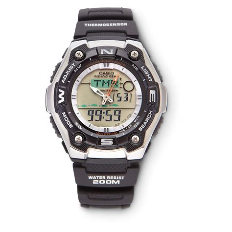 casio 174 fishing timer 221848 watches at sportsman