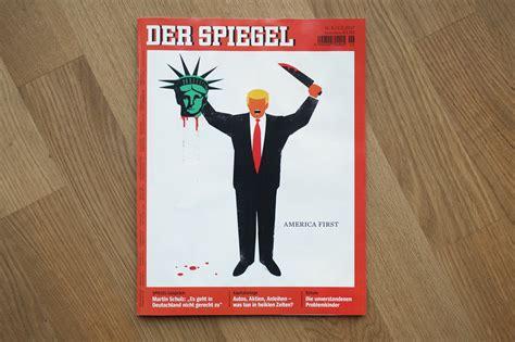 Dekor Spiegel by German Magazine Defends Cover Showing Beheading