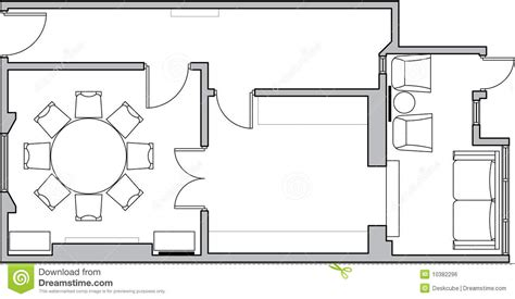 Working Drawing Floor Plan by Architecture Floor Plan Royalty Free Stock Image Image