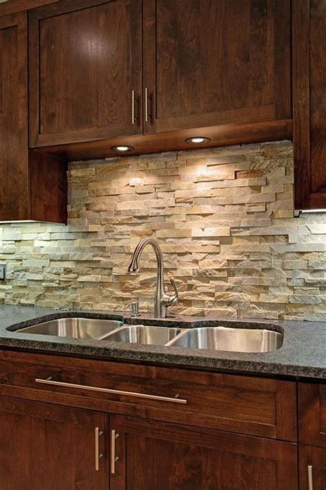 mesmerizing slate backsplash with awesome marble