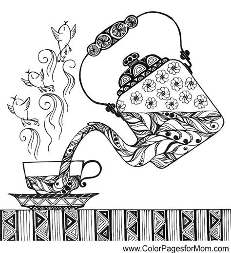 coloring pages for adults coffee coffee coloring page 33 my artistic side pinterest