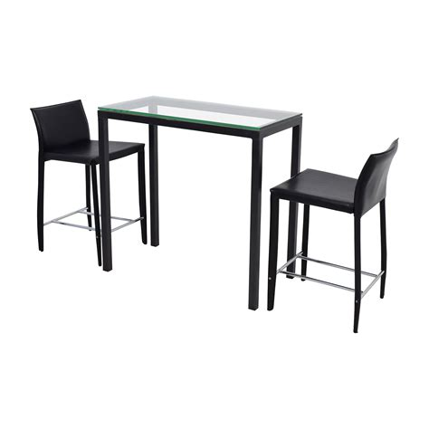 room and board bar stools 70 room board room board counter glass table and black leather stools tables