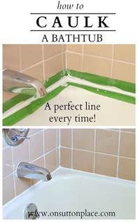 tips for caulking a bathtub great caulking tips tricks hative