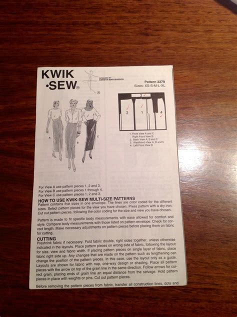 pattern review kwik sew kwik sew misses skirts 2279 pattern review by sewbusy888