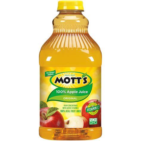 apple juice mott s apple juice 100 64 fl oz 2 qt 1 89 lt food