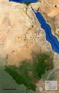 nile river on a map geo graph egyptexperience