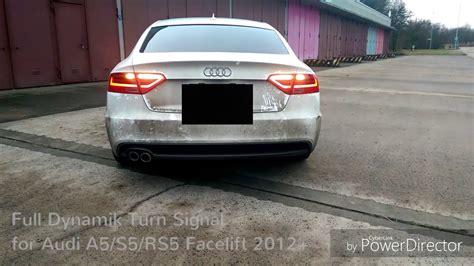 Audi A5 Rs5 Umbau by Audi A5 S5 Rs5 Dynamische Blinker Umbau Satz Dynamic