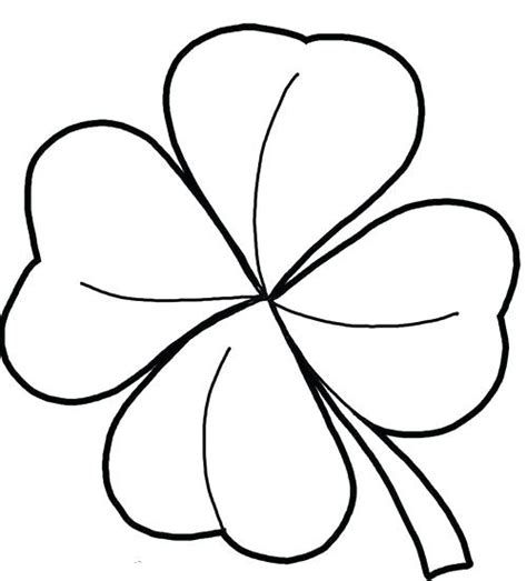 4 H Clover Coloring Pages by 4 H Clover Page Coloring Pages