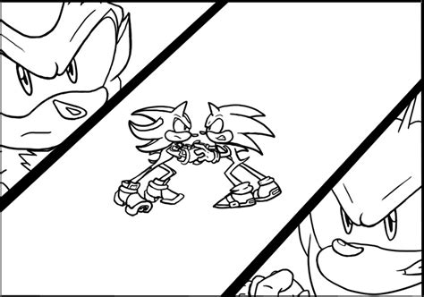 sonic coloring pages shadow kpizzacone bebo pandco