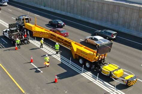 barriere mobili mobile barrier trailers direct traffic management
