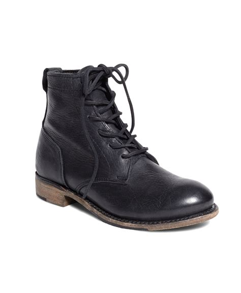brothers vintage shoe company leather lace up