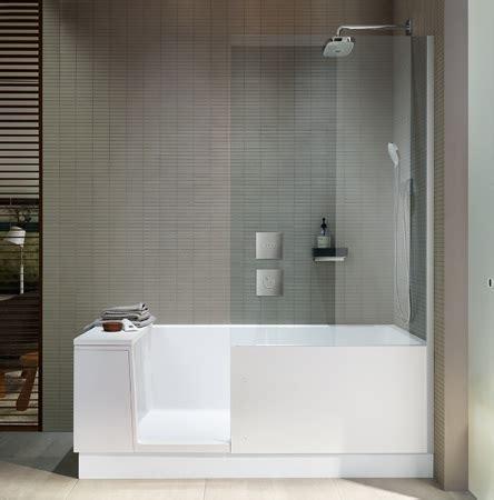 Badewanne Mit Duscheinstieg by Duravit Walk In Dusche Und Badewanne In Einem Haustec