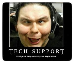 Meme Tech Support - funny customer service signs kappit