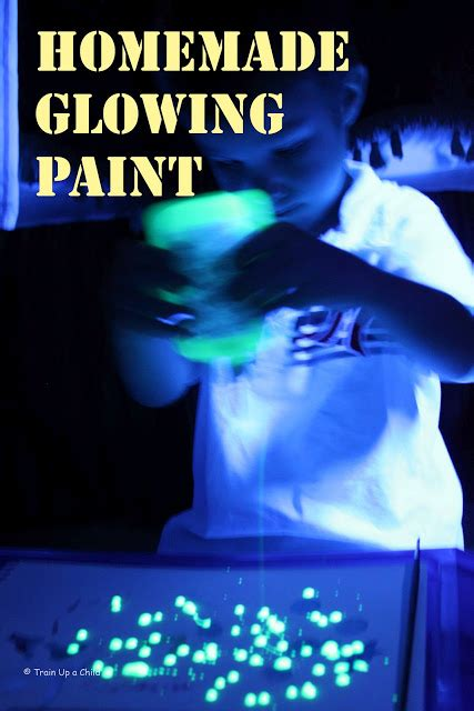 Glowing Paint Learn Play Imagine