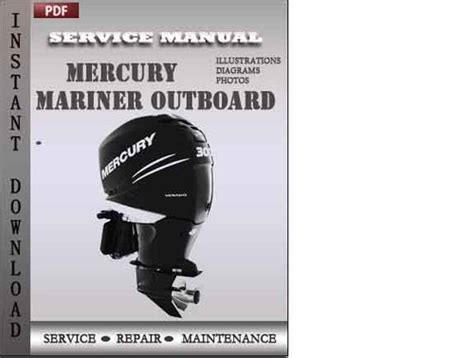 small engine repair manuals free download 2001 mercury sable engine control mercury mariner outboard 75 90 hp 4 stroke factory service repair m