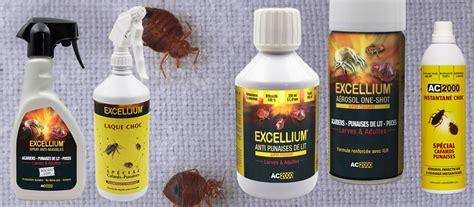 produits de traitement contre les punaises de lit