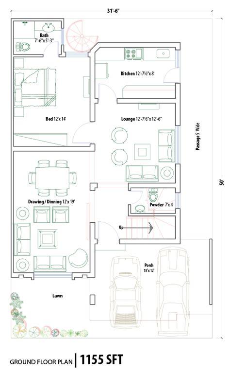 7 marla house maps pakistan studio design gallery