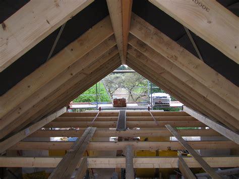 decke einziehen giebel und dach tag 16 wir bauen am lusthaus