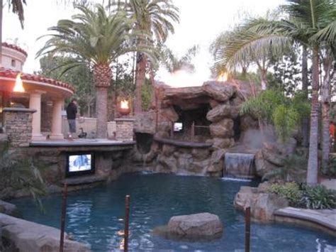 custom backyards socal custom pools rock works huntington beach ca