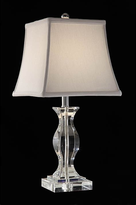 Crystal Bedroom Lamps Turkis Crystal 3 Way Chrome Table Lamp Traditional
