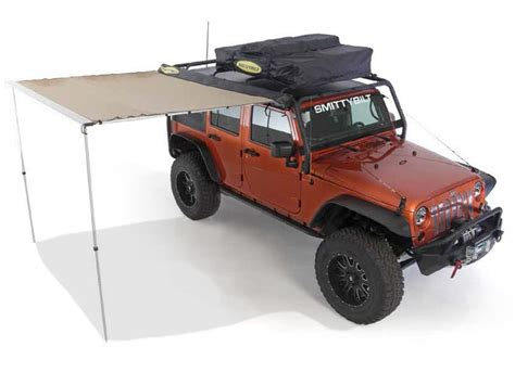 jeep wrangler awning smittybilt 174 tent awning jeep pinterest tent and tent