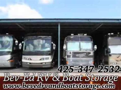 boat storage wa bev ed rv boat storage mukilteo wa youtube