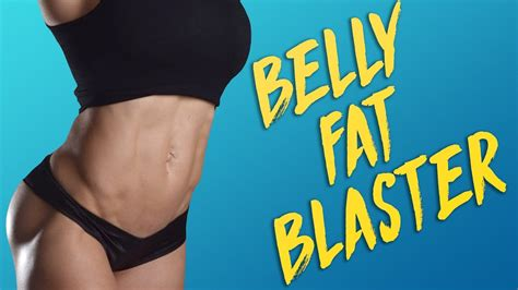 get a flat tummy thin waist at home beginners belly blast with 10 minute ab