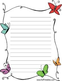 butterfly border template best 20 free printable stationery ideas on