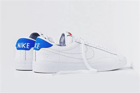 design zoom fragment design x nike zoom tennis classic ac white blue