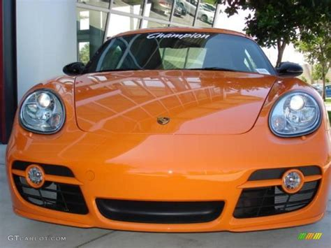 porsche cayman orange 2008 orange porsche cayman s sport 15455030 photo 2