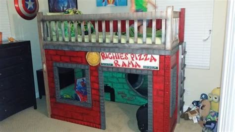 ninja turtle bunk bed 1000 ideas about ninja turtle bedroom on pinterest