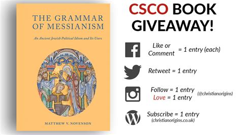 Book Giveaway Sites - novenson book giveaway ends sunday csco