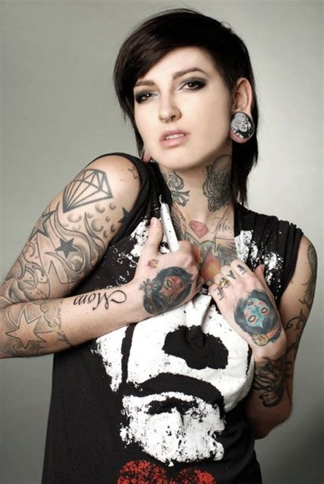 diamond tattoo model black diamond girl ink inked image 133769 on favim com