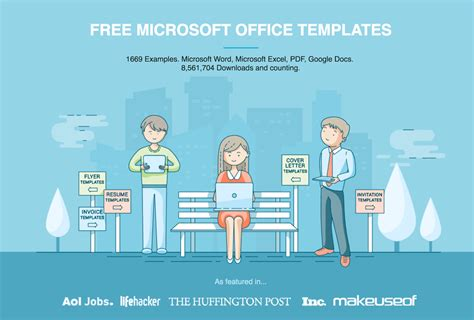 Free Microsoft Office Templates By Hloom Com Office Templates