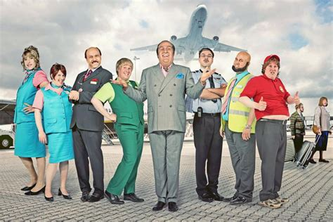 matt lucas airport comedy come fly with me one the arts desk