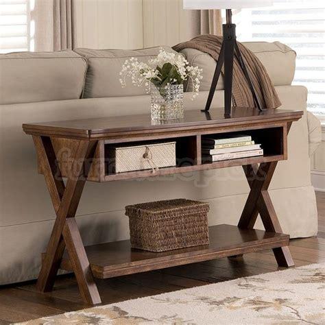 burkesville console sofa table cabin ideas rustic