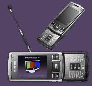 samsung introduces p960 dvb h slider mobile tv phone mobiletor