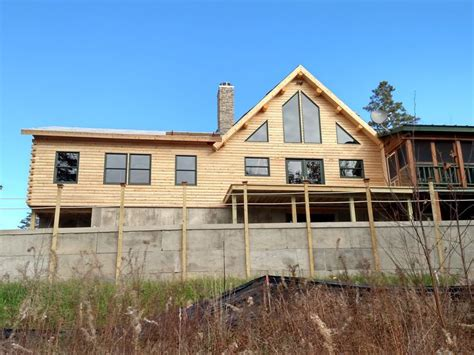 log siding corner kits 22 best log home great rooms and sitting areas images on