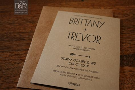 free rustic wedding invitation templates wedding and