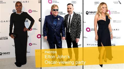 Elton Aids Foundation Oscar J Blige by Elton Aids Foundation S Oscar Viewing La Times
