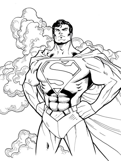Superman Color Pages lego superman coloring pages to and print for free