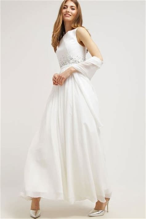 Hochzeitskleider Gã Nstig by Hochzeitskleider G 252 Nstig Brautkleid Mit Stola Unique