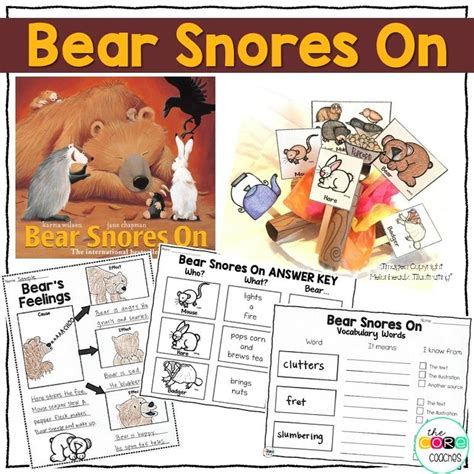 bear snores on bear snores on interactive read aloud lesson plans and activities snoring reading aloud and
