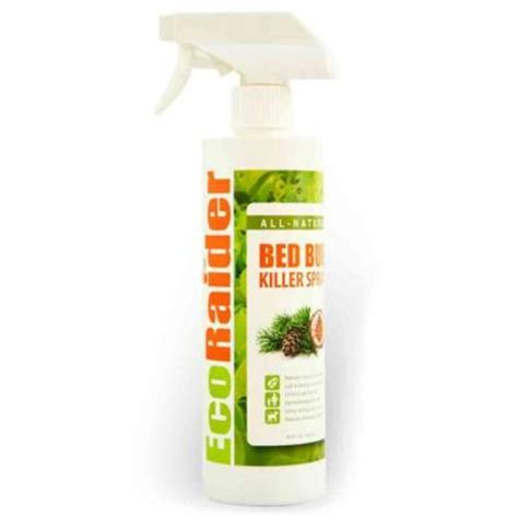 natural bed bug spray ecoraider 16 oz natural non toxic bed bug killer spray